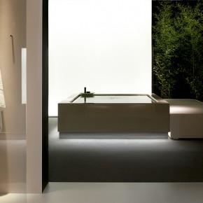 Mini-piscina para interior y exterior de Ludovica y Roberto Palomba para Kos