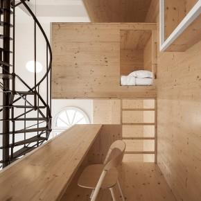 i29 interiors architects diseñan la torre de los almacenes de Bijenkorf