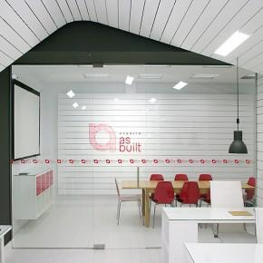as-built, estudio de arquitectura e interiorismo y espacio de co-working