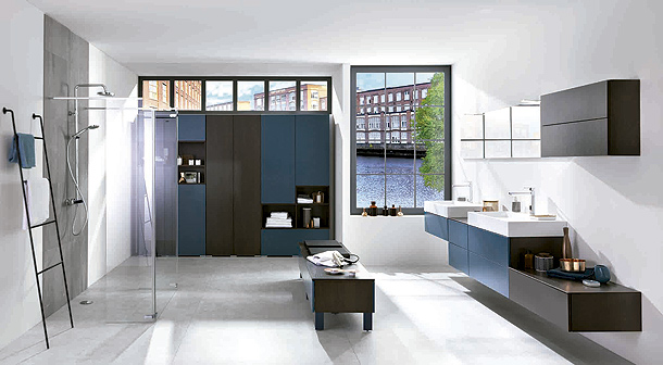 Colección Arcos Maverick y Loft Moody Blue de Schmidt