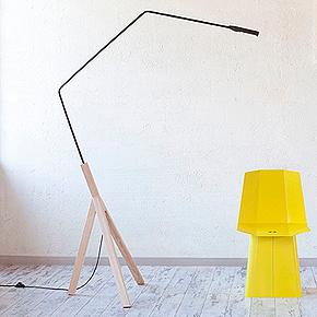 Noneli, una lámpara sostenible y en constante equilibrio de Auriga Studio