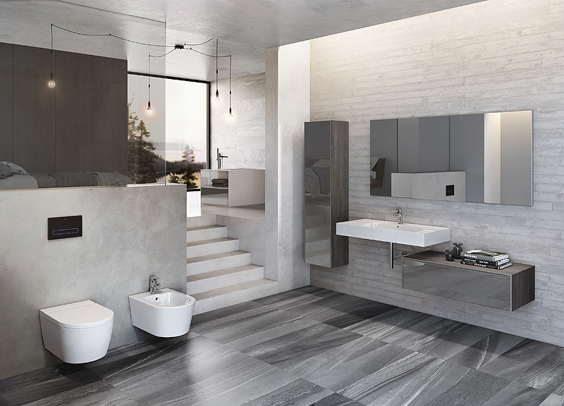 Colecci n para ba o inspira de roca for Best small bathrooms 2015