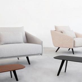 Stua presenta el sofá Costura y la mesa Solapa, diseñados por Jon Gasca