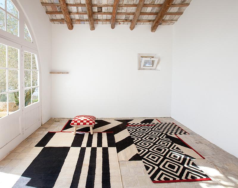 Sybilla interpreta el kilim tradicional para nanimarquina - Nani marquina alfombras ...