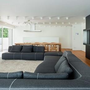 Residencia de lujo en Montebelluna proyectada por Giorgio Zaetta