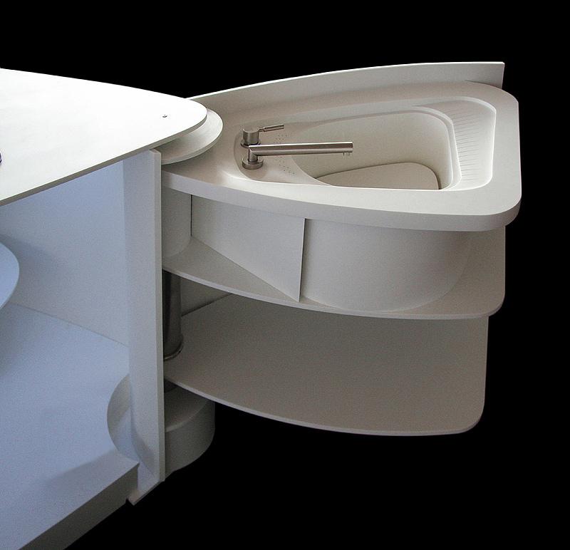 el corian es un avanzado material para superficies que puede aplicarse en el hogar ambientes contract sanidad hostelera iluminacin